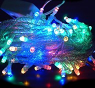 100 LED 10m Multi-colour String Decoration Light for Christmas Party Wedding  (220V)