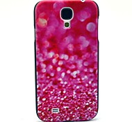 Pink Diamond Fragment Pattern Plastic Protective Back Cover for Samsung Galaxy S4 I9500