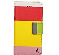 Case Pattern pochette de luxe en cuir pour iPhone 5C (couleurs assorties)