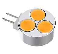 Spot Lampen G4 3 W 400-450 LM 3000 K 3 SMD Warmes Weiß DC 12 V