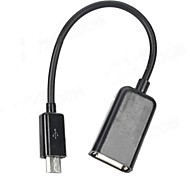Micro USB Male to USB Female Adapter Cable YS-052