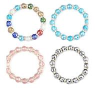 Ball Aspect Crystal Flexible Bracelet(1pc)