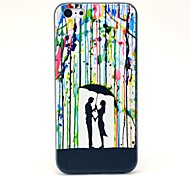 Il modello Raining amante Hard Case per iPhone 5C
