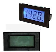 TS-303L Blue 3 1/2 LCD Digital panel Volt Meter 7.5-20V
