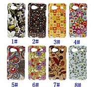 Beauty Florals Pattern TPU Soft Case for Samsung Galaxy S Advance i9070