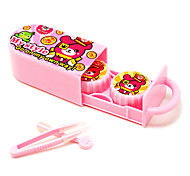 Lovely Cartoon and Portable Container of Contact Lenses(Random Color)