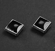 Punk Square Magnetic Earrings(1 Pair)