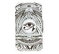 Kinston the Eye of Sun God Pattern PU Leather Full Body Case with Stand for iPhone 4/4S