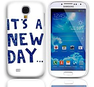 New Design Dia Hard Case com protetores de tela de 3-Pack para Samsung Galaxy S4 mini-I9190