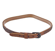 10mm Women's Vintage Leather Bracelet Watch Band (Assorted Colors)