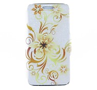 Kinston Hollow Out Flower Tendril Pattern PU Leather  Full Body Case for Samsung S5 I9600