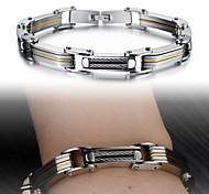 Super Cool Individuality Creative Fashion Gift Man Titanium Steel Bracelet
