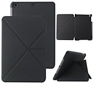 Elonbo Solid Color Design PU Leather Stand Full Body Case Cover for iPad Air (Assorted Colors)