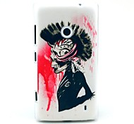 Cool Ghost Pattern Hard Case for Nokia Lumia N520