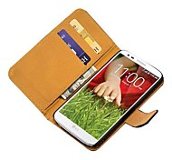 Wallet Genuine Leather Case for LG G2 Mobile Phone Cover New Arrival