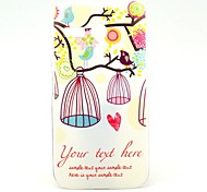Bird and Birdcage on The Tree Pattern Plastic Hard Case for Motorala Moto G