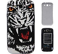 Modelo del tigre dura de la PC de la batería de la cubierta de i9300 Samsung Galaxy S3