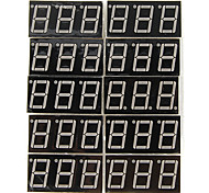 "LD-5361AS 3 Digit 0.56"" Red 7 Segment LED Display Common Cathode (10 PCS)"