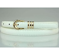 Women Skinny Belt , Cute/Casual Leather