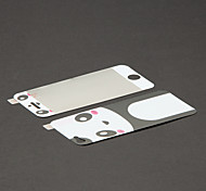 Panda Design Front & Rear Skin Sticker for iPhone 5