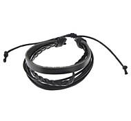 Unisex 20mm schwarz Silikon-Uhrenarmband
