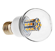 E26/E27 LED Globe Bulbs G60 27 SMD 5050 500 lm Warm White AC 220-240 V