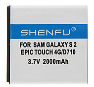 SHENFU 2000mAh Cellphone Battery for Samsung Touch 4G/D710