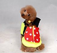Pet Летние Насекомые пальто для Собаки (разных размеров)