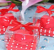 Presentes Forma Coração romântico da cerimónia de casamento velas