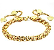 Beautiful Jewelry 18 K Elegant Noble Lady Love Bracelet