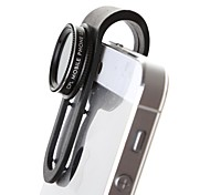 Detachable Round Shape Fish Eye Lens and Wide Angle Lens for iPhone 5