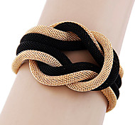 Eruner®Simple Metal Braided Temperament Bracelet