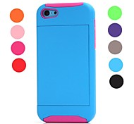 High Impact Credit Card Wallet Combo Stand Case Cover for Apple iPhone 5C