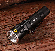 SK96 Cree XM-L T6 800LM 3-Mode White Light Zooming Flashlight(1x18650/3xAAA)
