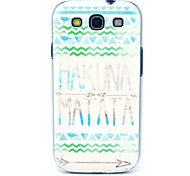 cartoon lion Pattern Hard Back Case Cover for Samsung Galaxy S3 I9300
