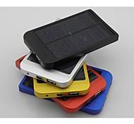 2600mAh Polysilizium Solar-Ladegerät externe Batterie für iPhone / samsung / Handys / Mobilgeräte