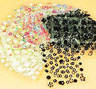 40PCS Mixs Style Flower Type Nail Art Stickers