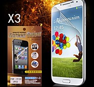 Protezione di schermo protettivo HD per Samsung Galaxy S2 I9100 (3PCS)