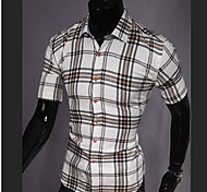 Men's Casual Stand Collar Shirt