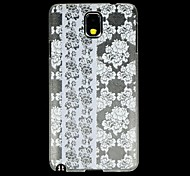 Floral Designs Back Cover Transparent Plastic for The Samsung GALAXY Note 3