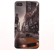 Die Straße Muster PC Hard Case für iPhone 4/4S