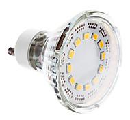 1W GU10 LED Spotlight 12 SMD 2835 120-140 lm Warm White AC 220-240 V