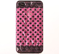 Three-Dimensional Diamond Graphics Geometric Designs PC Hard Case for iPhone 4/4S