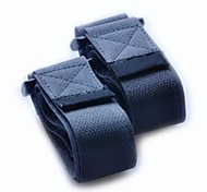 Nylon fastener tape Buckle Compression Belt-Black 2.5x60cm (2 piece pack)