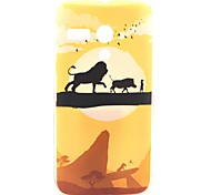 Walking Lion Hakuna Matata Plastic Hard Case for Motorala Moto G