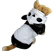 Cotton Wind Lining  Panda Sytles for Dogs Pets
