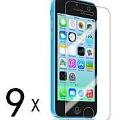 [9-Pack] premium de alta definición Protectores de pantalla Clear para iPhone 5C