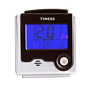 Timess™  LED Digital Talking Thermometer Alarm Clock