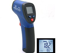 "DT-810 0.9"" LCD Non-Contact IR Infrared Digital Infrared Thermometer Laser Point Blue (6F22/9V)"