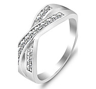 Genuine 925 Weddings & Events Brand Best Gift Rings for Women AAA Sterling 925 Silver Ring